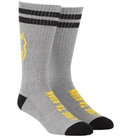 Spitfire Socks Heads Up Heather/Black/Yellow image
