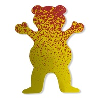 Grizzly Sticker XL Bear Splat 5 inch image