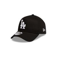New Era Hat Los Angeles Dodgers 9FORTY A Frame Black/White image