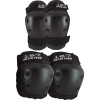187 Pads Combo Pack Black XSmall image