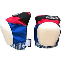 187 Pads Pro Knee Red/White/Blue image