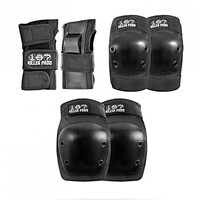 187 Pads Junior Six Pack Black image