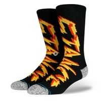 Stance Socks Electrified Black US 9-13 image