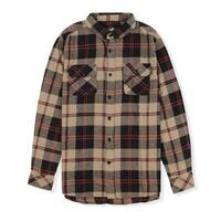 Santa Cruz Flannel Loco Brown Medium image