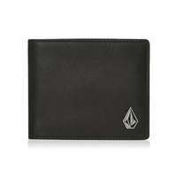 Volcom Wallet Leather Single Stone Black image