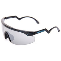Happy Hour Sunglasses Accelerator Black/Blue Spatter Chrome Lens image