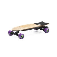 Evolve Stoke Orangatang Caguama 85mm Purple Electric Skateboard image