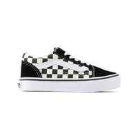 Vans Youth Old Skool Primary Check Black/White image