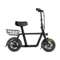 Fiido Q1 Electric E-Bike Scooter Black image