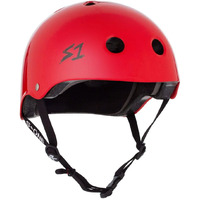 S-One S1 Helmet Lifer Bright Red Gloss image