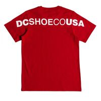 DC Youth Tee Side To Side Tango Red image