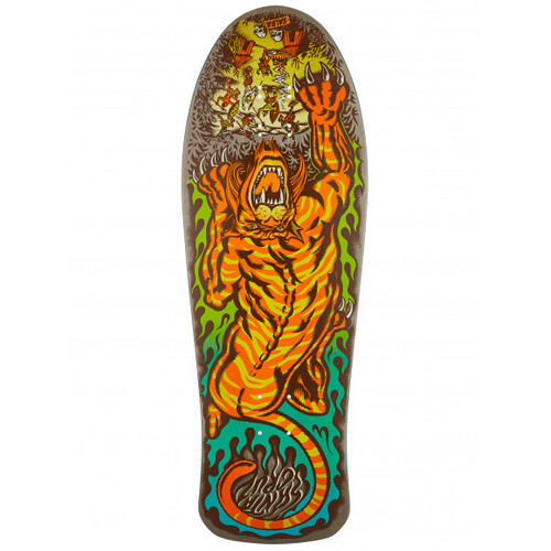 Santa Cruz Deck Salba Tiger Matte Finish 10.3 x 31.1