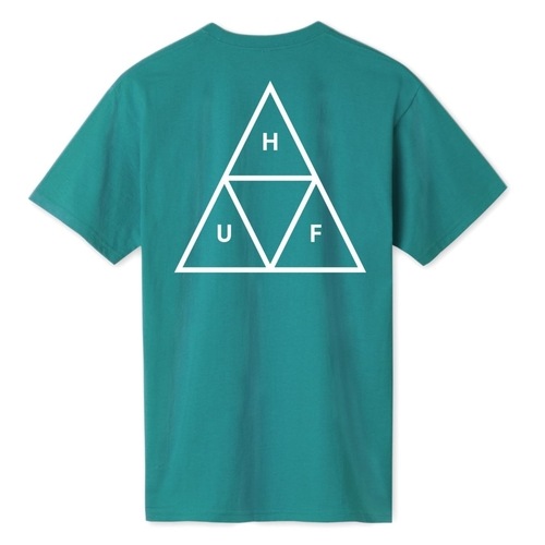 Huf Tee Essentials TT Biscay Bay [Size: Mens X Large]